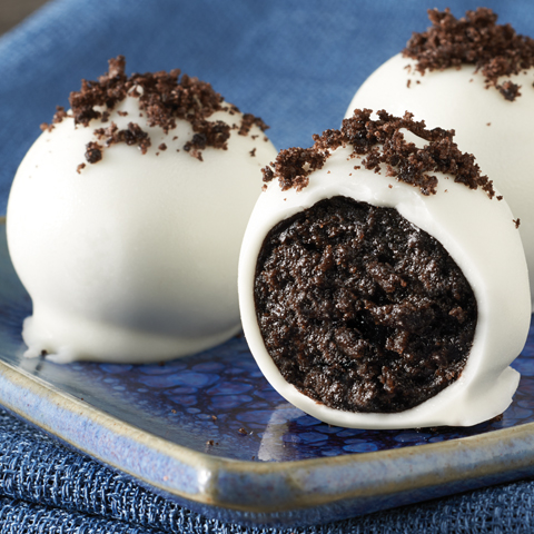 Boules aux biscuits OREO au chocolat blanc recette