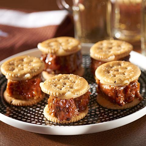 Cheesy Meatloaf RITZwich Recipe