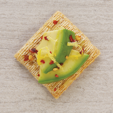 Avochiliemonscuit (avocado+chili flakes+lemon) Recipe