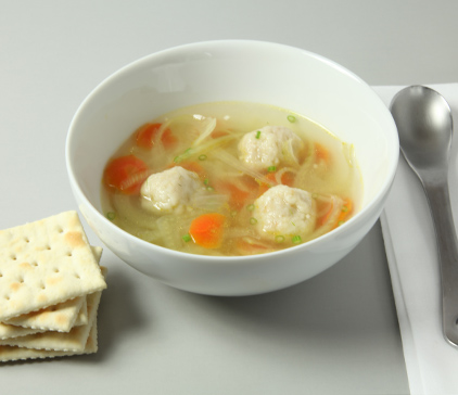 Fennel Soup with PREMIUM Saltine Dumplings Recipe