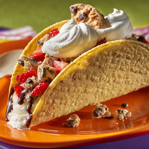 CHIPS AHOY! Ice Cream Tacos Recipe