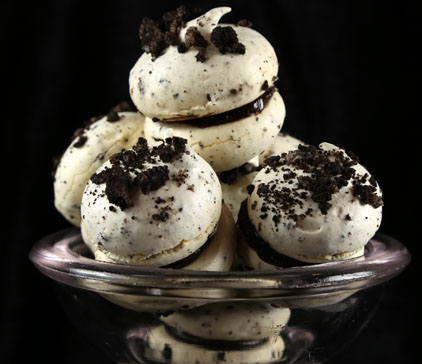 Meringues with OREO Recipe