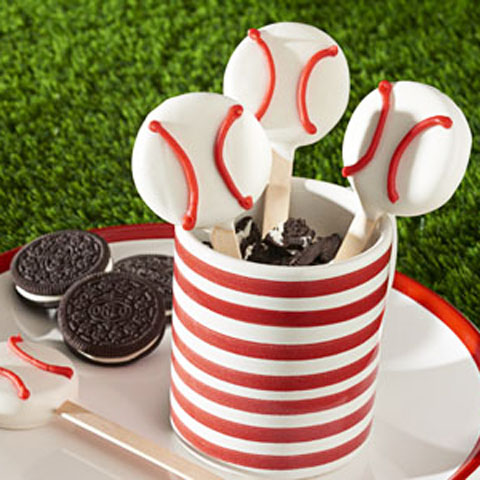 OREO Baseball Pops Recipe