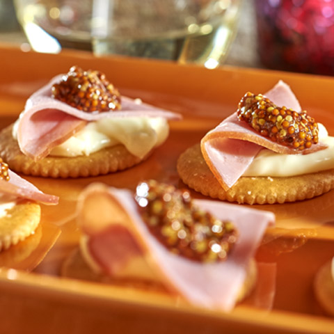 Spicy Ham & Brie Topper Recipe