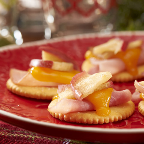 Warm Apple, Ham & Cheese Topper Recipe