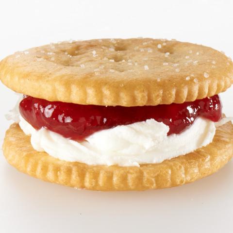 Raspberry-Cream Cheese RITZwich Recipe