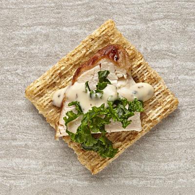 Kale-Chicken Caesar Bites Recipe