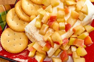 Tartinade au fromage, aux pommes et au caramel recette