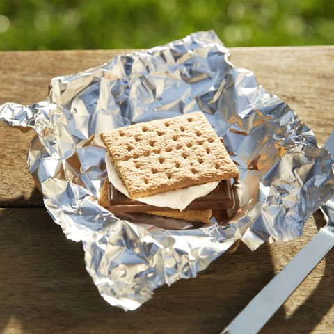 S'mores on the Grill Recipe