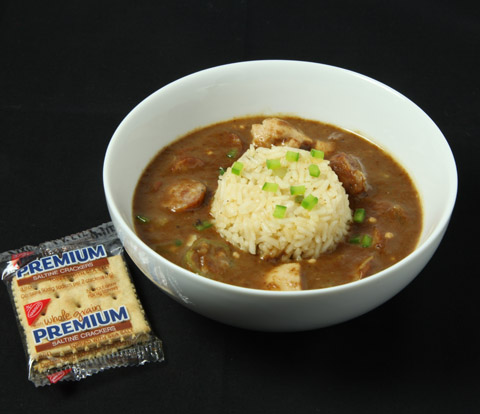 Chicken & Andouille Gumbo with PREMIUM Saltines Recipe