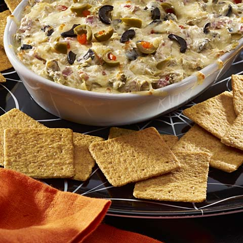 Cheesy Antipasto Dip Recipe