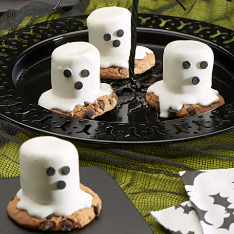 Mallow Ghost Cookies Recipe