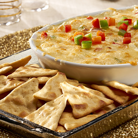 WHEAT THINS Spicy Crab Rangoon Dip Recipe