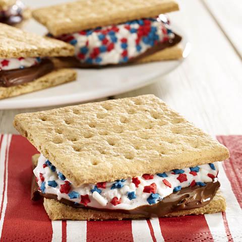 honey maid patriotic s mores recipe