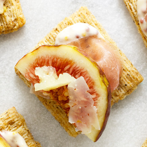 Prosciutto, Fig & Manchego Bites Recipe