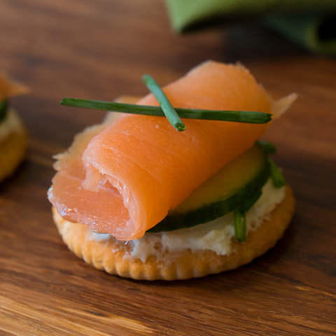 RITZ Nova Scotia Salmon Topper Recipe