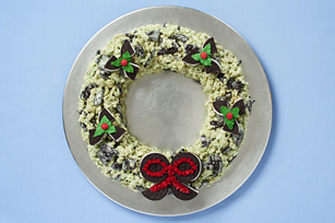 Festive OREO Wreath Recipe