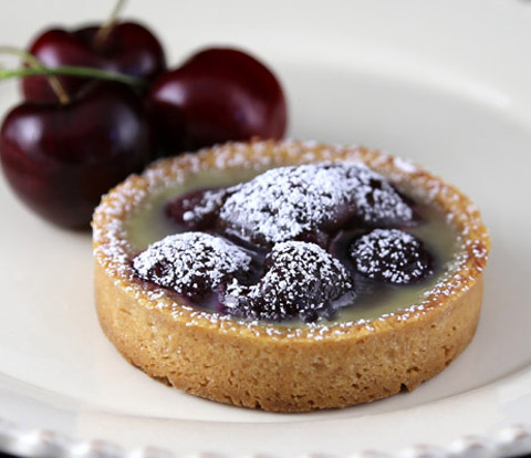 Cherry Custard Tarts made with NILLA Wafers Recipe