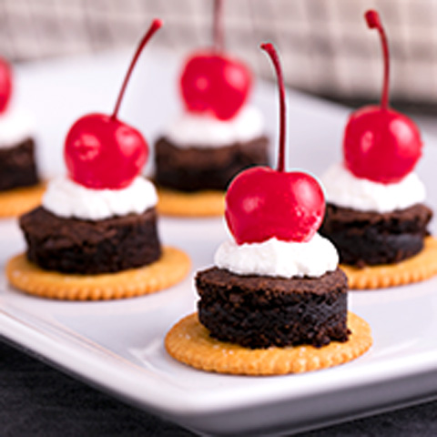 Sweet & Salty Brownie Topper Recipe