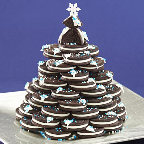 OREO Holiday Tree Centerpiece Recipe