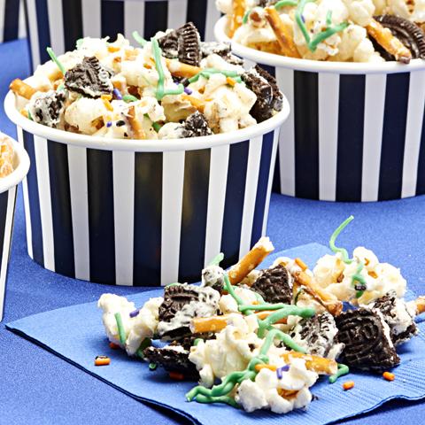 OREO Halloween Popcorn Treat Recipe