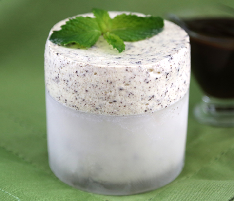Frozen Mint Soufflés with OREO Recipe