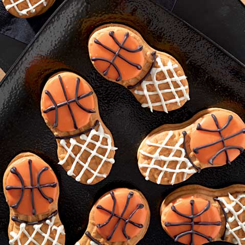 NUTTER BUTTER Basketball in Net Recipe