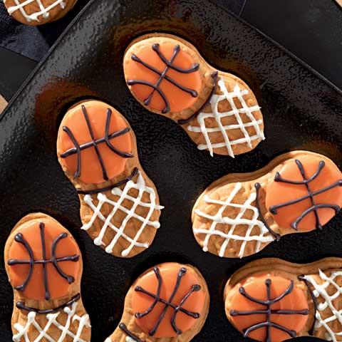 NUTTER BUTTER Basketball in Net Recipe