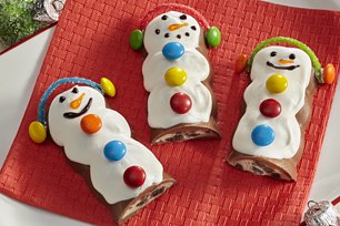 Candy Bar Snowmen Recipe