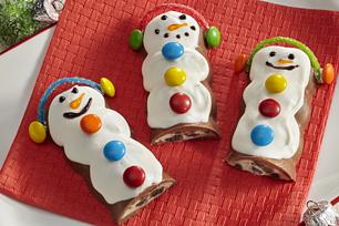 Candy Bar Snowmen Recipe