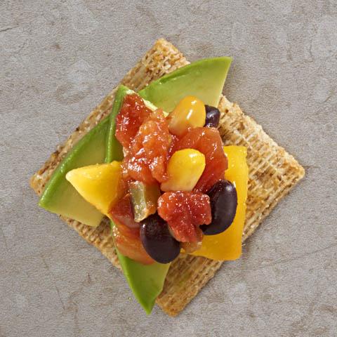 Avocado-Mango TRISCUIT Toppers Recipe