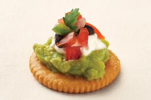 RITZ Guacamole & Salsa Bites Recipe