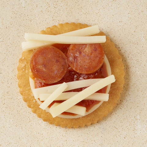 RITZ Pizza Mummies Recipe