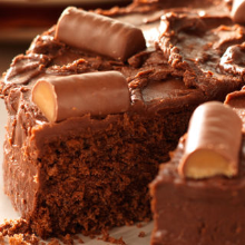 chocolatey cadbury fudge cake