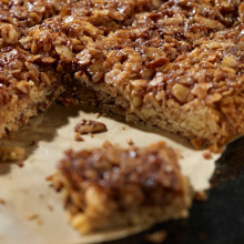 chewy & chocolatey bournville flapjacks