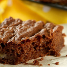 cadbury dairy milk choccy banana brownies
