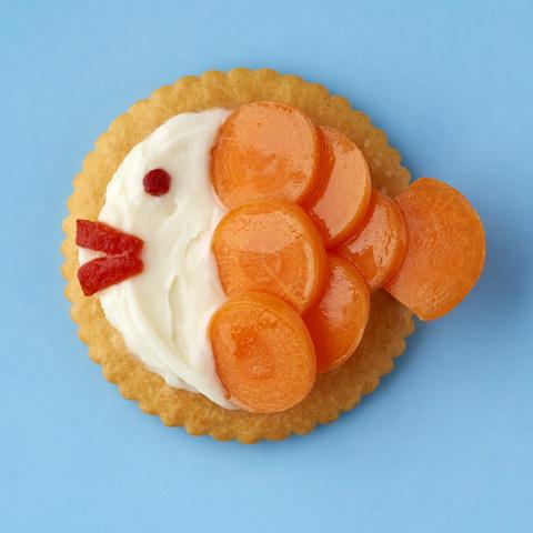 RITZ Cream Cheese & Veggie Swimmers Recipe