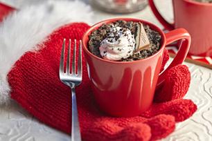 Double-OREO Mug Cake Recipe