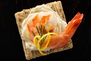 Zeste de fraîcheur aux crevettes au citron et à l'ail recette