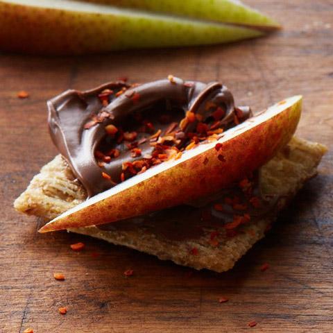 Sweet & Spicy Hazelnut Toppers Recipe
