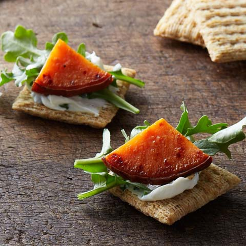 Sweet Potato-Cream Cheese Toppers Recipe
