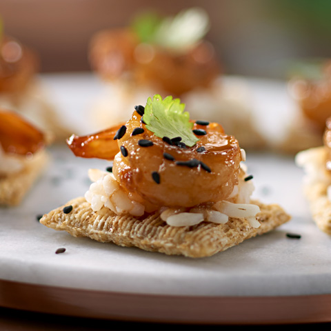 Honey-Sriracha Glazed Shrimp Recipe