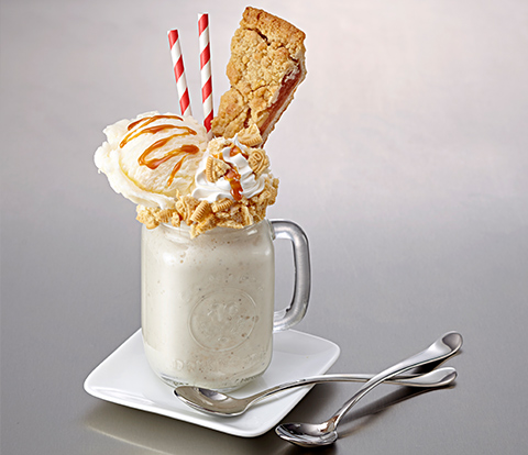 Ultimate Apple Pie Milkshake made with Golden OREO  Recipe
