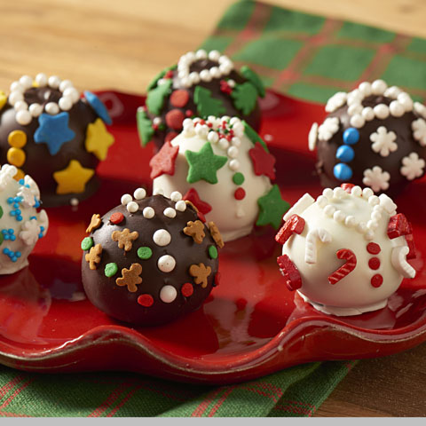 Ugly Christmas Sweater OREO Cookie Balls Recipe