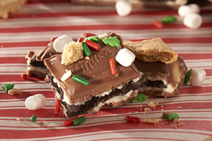 MILKA OREO Holiday S'mores Bark Recipe