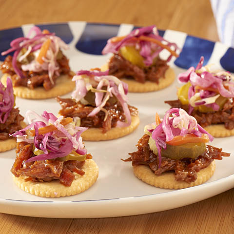 Time-Out Pulled Pork Toppers Recipe
