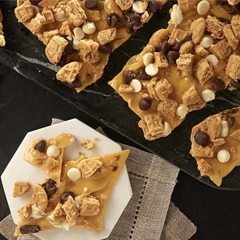 3-Point-Shot NUTTER BUTTER Peanut Brittle Recipe