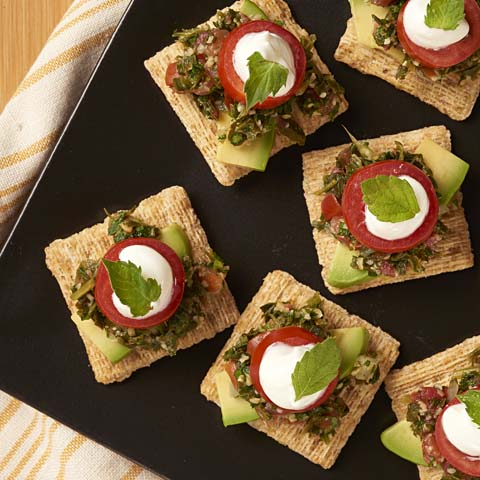 Time-Out TRISCUIT Tabbouleh Topper Recipe