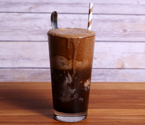 Stout Ice Cream Float made with OREO Cookie Pieces Recipe