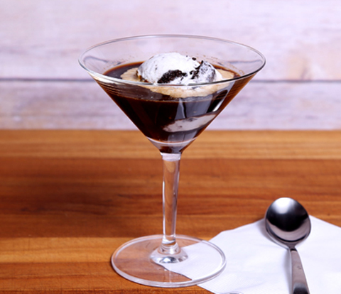 Ice Cream Affogato made with OREO Cookie Pieces Recipe